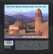 Le Languedoc, De La Costa Brava A Marseille ; Les Plus Beaux Mouillages Vus Du Ciel - 4ème de couverture - Format classique