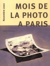 Mois de la photo a paris 2002 - Couverture - Format classique