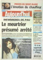 Aujourd'Hui En France N°1160 du 01/02/2005 - Couverture - Format classique