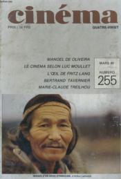 Cinema 80 N° 255 - Manoel De Oliveira - Le Cinema Salon Luc Moullet - L'Oeil De Fritz Lang - Bertrand Tavernier - Marie-Claude Treilhou - Couverture - Format classique