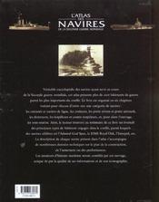 L'Atlas Des Navires De La Seconde Guerre Mondiale - 4ème de couverture - Format classique
