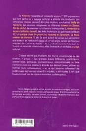 Revisez Vos References Culturelles Memento Pour Etudiants Serieux (Et Journalistes Presses...) - 4ème de couverture - Format classique