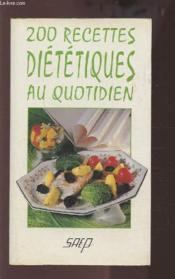 200 recettes dietetiques - Couverture - Format classique
