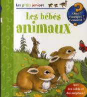 Les p'tits juniors ; les bébés animaux - Couverture - Format classique