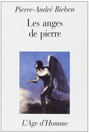 Les Anges De Pierre - Couverture - Format classique