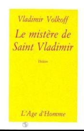 Le Mystere De Saint Vladimir - Couverture - Format classique