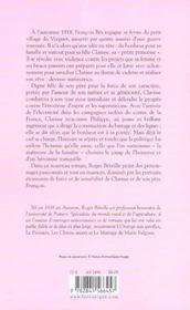 Clarisse - 4ème de couverture - Format classique