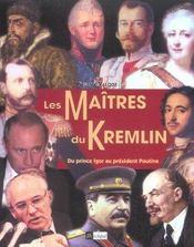 Les Maitres Du Kremlin - Intérieur - Format classique