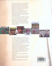 Inde malabar et coromandel - 4ème de couverture - Format classique