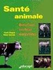 Santé animale ; bovins, ovins, caprins - Couverture - Format classique