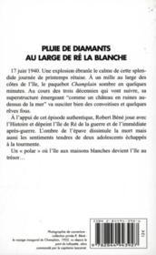 Pluie De Diamants Au Large De Re ... - Couverture - Format classique