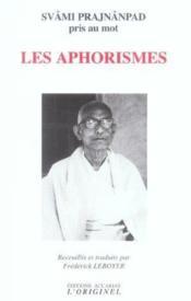 Aphorismes (Les) - Couverture - Format classique