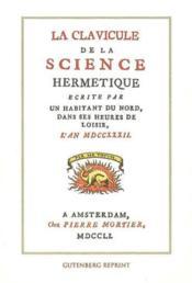 La Clavicule De La Science Hermetique - Couverture - Format classique