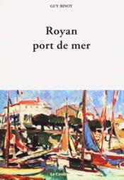 Royan Port De Mer - Couverture - Format classique