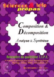Composition Et Decomposition - Couverture - Format classique
