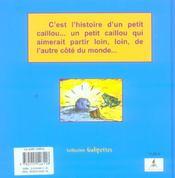 Le petit caillou - 4ème de couverture - Format classique