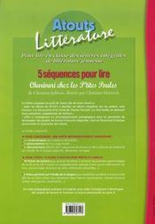 5 séquences pour lire ; charivari chez les p'tites poules - 4ème de couverture - Format classique