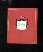 Thatre Michel. Saison 1944 - 1945 . - Couverture - Format classique
