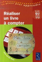 Réaliser un livre à compter ; MS, GS - Intérieur - Format classique