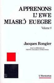 Apprenons L'Ewe T.9 - Intérieur - Format classique
