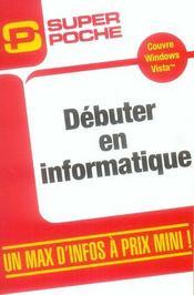 Débuter en informatique - Intérieur - Format classique