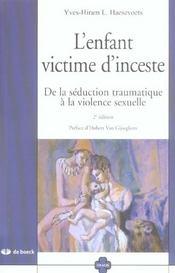 Enfant Victime D'Inceste (L') - Intérieur - Format classique