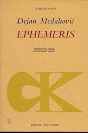 Ephemeris - Couverture - Format classique