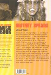 Britney spears de a a z - 4ème de couverture - Format classique
