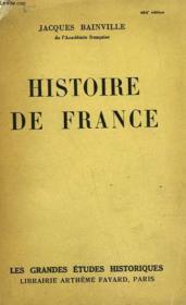 Histoire De France. - Couverture - Format classique
