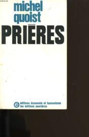 Prieres. - Couverture - Format classique