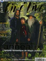 CINE LIVE - N° 53 - LE SEIGNEUR DES ANNEAUX - L'épopée fantastique de Magic Jackson - Couverture - Format classique