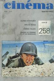 Cinema 80 N° 258 - Lafred Hitchcock - Miklos Rozsa - Cinema Italien - Cinema Au Feminin... Et Au Masculin - Couverture - Format classique