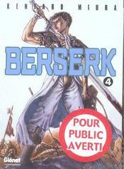 Berserk - Tome 04 - Intérieur - Format classique
