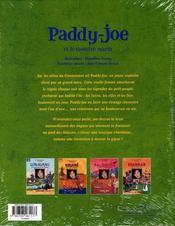 Paddy-Joe et le monstre marin - 4ème de couverture - Format classique