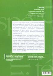 Le Management Strategique Des Competences - 4ème de couverture - Format classique