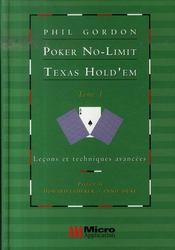 Poker no-limit texas hold'em t.1 ; leçons et techniques - Intérieur - Format classique