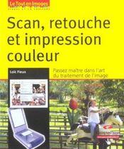 Scan, retouche et impression - Intérieur - Format classique