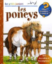 Les p'tits juniors ; les poneys - Couverture - Format classique