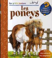 Les p'tits juniors ; les poneys - Intérieur - Format classique