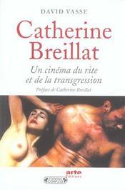 Catherine breillat ; un cinema du rite et de la transgression - Intérieur - Format classique