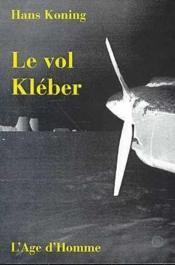 Le Vol Kleber - Couverture - Format classique