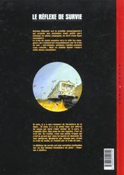 Le reflexe de survie t.1 - 4ème de couverture - Format classique