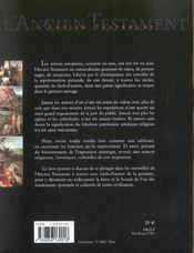 L'ancien testament à travers 100 chefs-d'oeuvre de la peinture - 4ème de couverture - Format classique