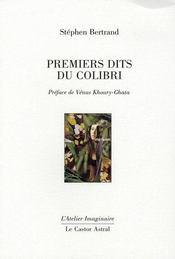 Premiers dits du colibri - Intérieur - Format classique