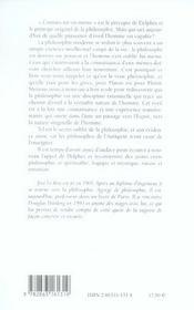 Eveil Et Philosophie - 4ème de couverture - Format classique