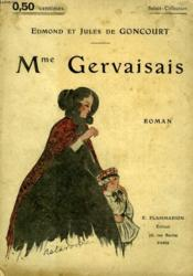 Mme Gervaisais. Collection : Select Collection N° 8 - Couverture - Format classique