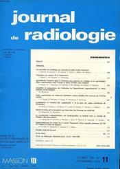 Lot De 2 Journaux De Radiologie D'Electrologie Et De Medecine Nuclaire Tome 60 - N°11 Et N°5 - Mai - Novembre 1979 - Couverture - Format classique