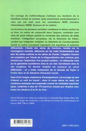 Mathematiques Universite 2e Annee Mias Sm Mass - 4ème de couverture - Format classique