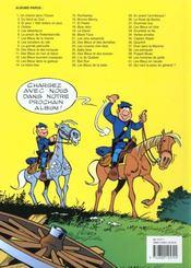 Les tuniques bleues t.40 ; les hommes de paille - 4ème de couverture - Format classique