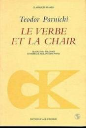 Verbe Et La Chair (Le) - Couverture - Format classique